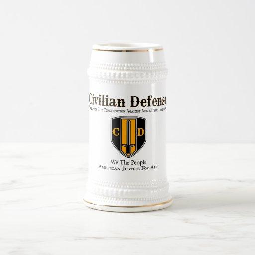 Civilian Defense Coffee Mug