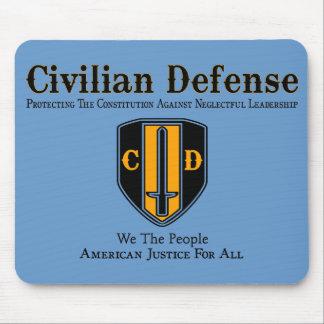 Civilian Defense Mousepads