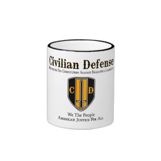 Civilian Defense Mugs