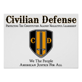Civilian Defense Posters