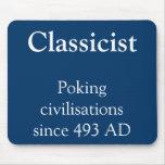 Civilizaciones de empuje del clasicista tapete de ratón