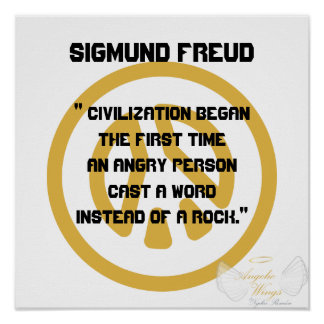 Civilization! Sigmund Freud-Customize Poster