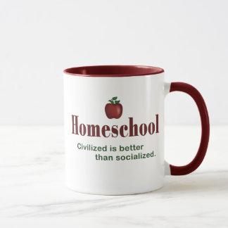 Civilized Is Better Than Socialized – Mug
