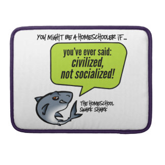 Civilized Not Socialized MacBook Pro Sleeves
