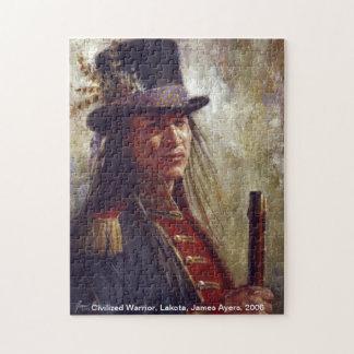 Civilized Warrior, Native American (Lakota) puzzle
