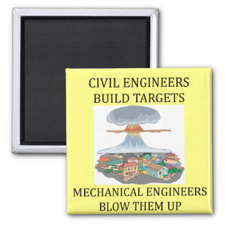 civilmechanical engineers 2 inch square magnet
