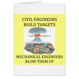 civilmechanical engineers card