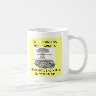 civilmechanical engineers coffee mug
