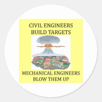 civilmechanical engineers stickers