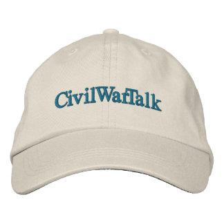 CivilWarTalk adjustable hat Embroidered Hat