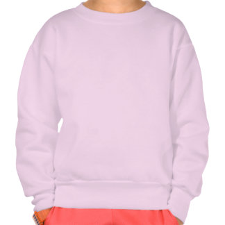 Civishi #123 Red, Abstract Sea Fan Pullover Sweatshirt