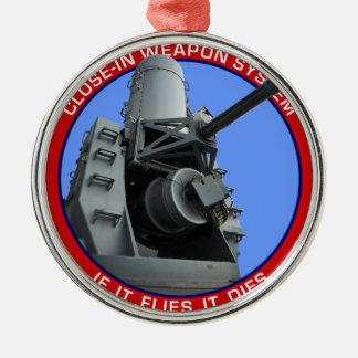 CIWS.png Metal Ornament