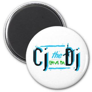 CJ Aqua Swap 2 Inch Round Magnet