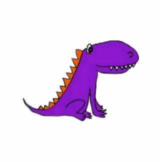CJ- Funny Purple Dragon Photo Sculpture
