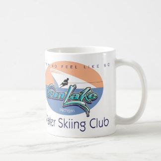 CJ, Gun Lake Front Classic White Coffee Mug