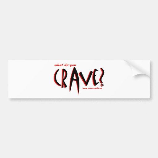 CJ Red Swap Bumper Sticker