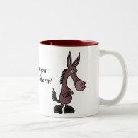 CJ- Stubborn Mule Mug