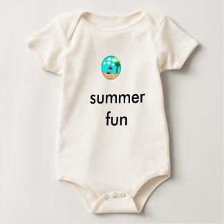 cj, summer fun baby bodysuit