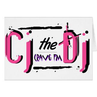 CJ the DJ Pink Card