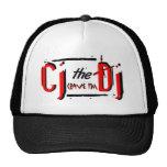 CJ the DJ Red Mesh Hat