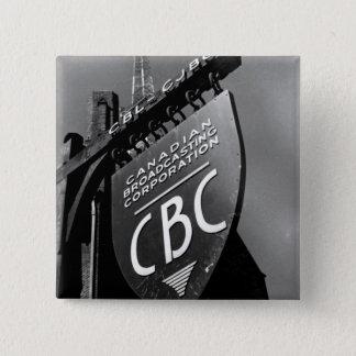 CJBC Radio Pinback Button