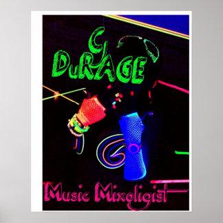 cjduRAGE Glowing Poster