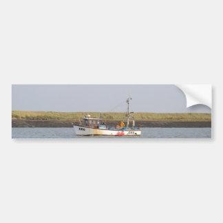 CK6 Fishing Vessel Asterix Car Bumper Sticker