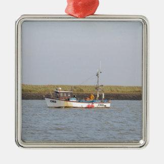 CK6 Fishing Vessel Asterix Metal Ornament