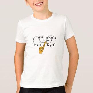CK- Sheep Playing Saxophone Shirt