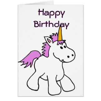 CK- Unicorn Birthday Card