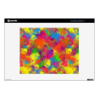 CKC Paint Can Florals-12in Vinyl Laptop Skin