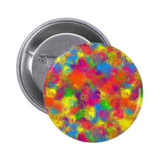 CKC Paint Can Florals-Button Pins