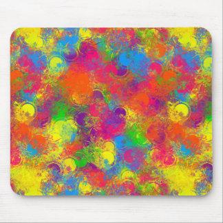 CKC Paint Can Florals-Computer Mousepad