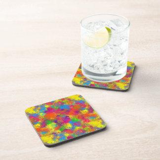 CKC Paint Can Florals-Drink Coasters
