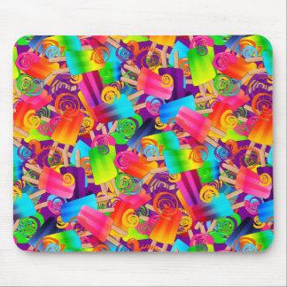 CKC Popsicle Swirls,Purple-MOUSEPAD Mouse Pad