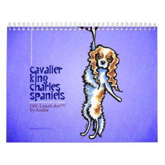 CKCS King Charles Spaniels Off-Leash Art™ Vol 1 Calendar