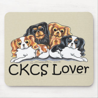 CKCS Lover Mouse Pad