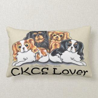 CKCS Lover Throw Pillows