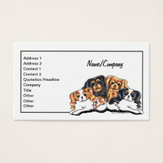 Ckcs Pet Business Cards at Zazzle