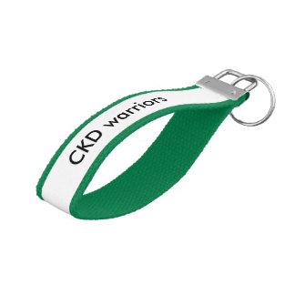 CKD warriors Wrist Keychain