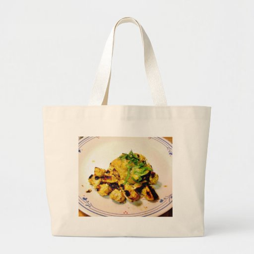 Ckicken Tikka Dinner Cooking Food Indian Tote Bag