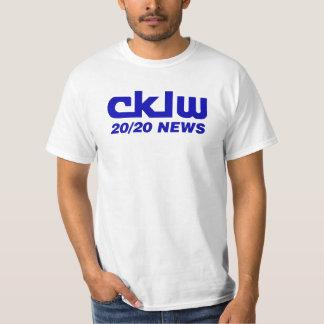 CKLW Windsor Detroit 20/20 News T-Shirt