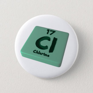 Cl Chlorine Button