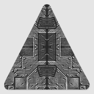 Cl del CASCO del VEHÍCULO ESPACIAL Pegatina Triangular