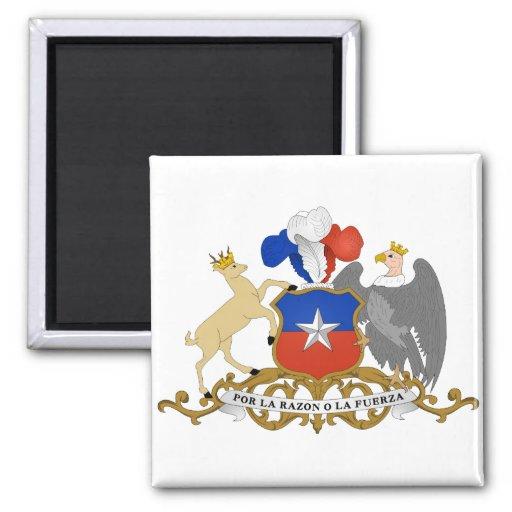 CL del escudo de armas de Chile Iman Para Frigorífico