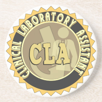 CLA BADGE - CLINICAL LABORATORY ASSISTANT COASTER