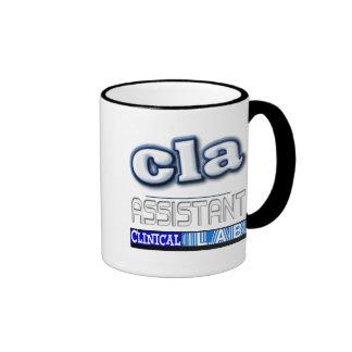 CLA LOGO - ASSISTANT CLINICAL LABORATORY COFFEE MUG