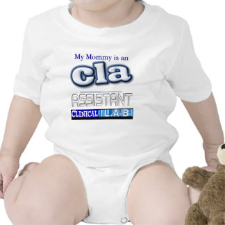 CLA LOGO - ASSISTANT CLINICAL LABORATORY SHIRT