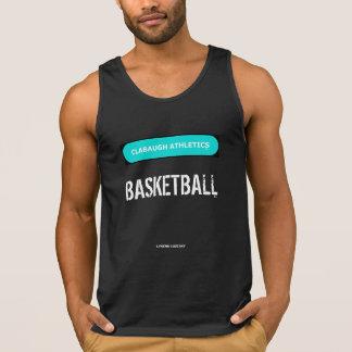 Clabaugh Athletics BASKETBALL in black Tank Top