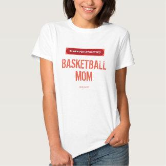 Clabaugh Athletics BASKETBALL MOM T Shirt